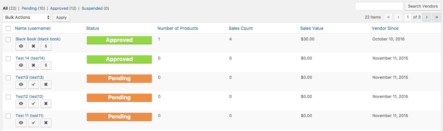 easy digital downloads vendors list