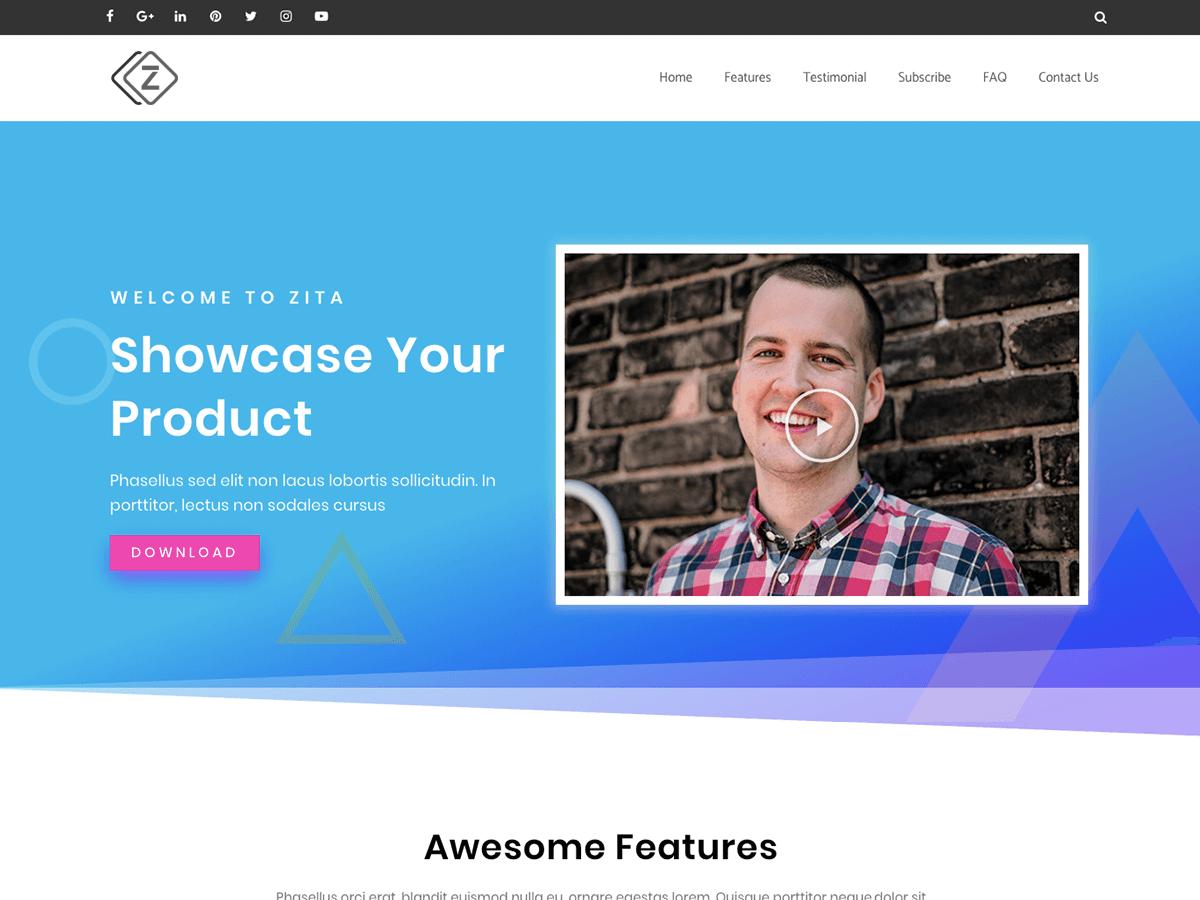 Zita WordPress Theme