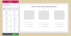 Create a Post Grid using Elementor