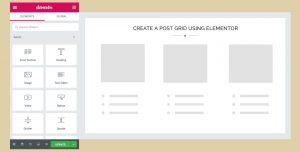Create a Post Grid using Elementor